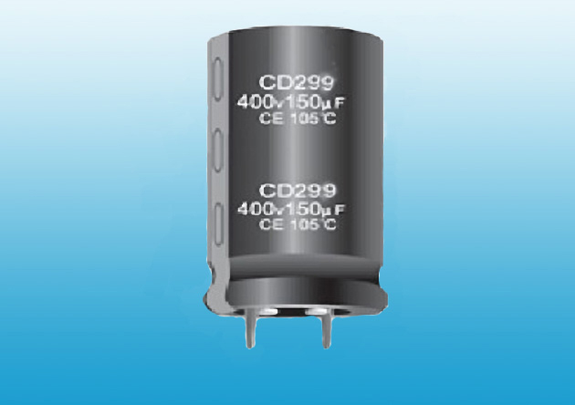 CD299 Snap in aluminum electrolytic capacitor