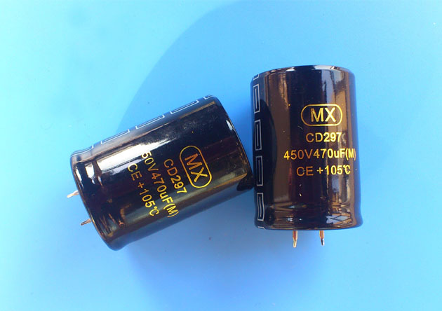 450V 470uf Snap in Aluminum electrolytic capacitor